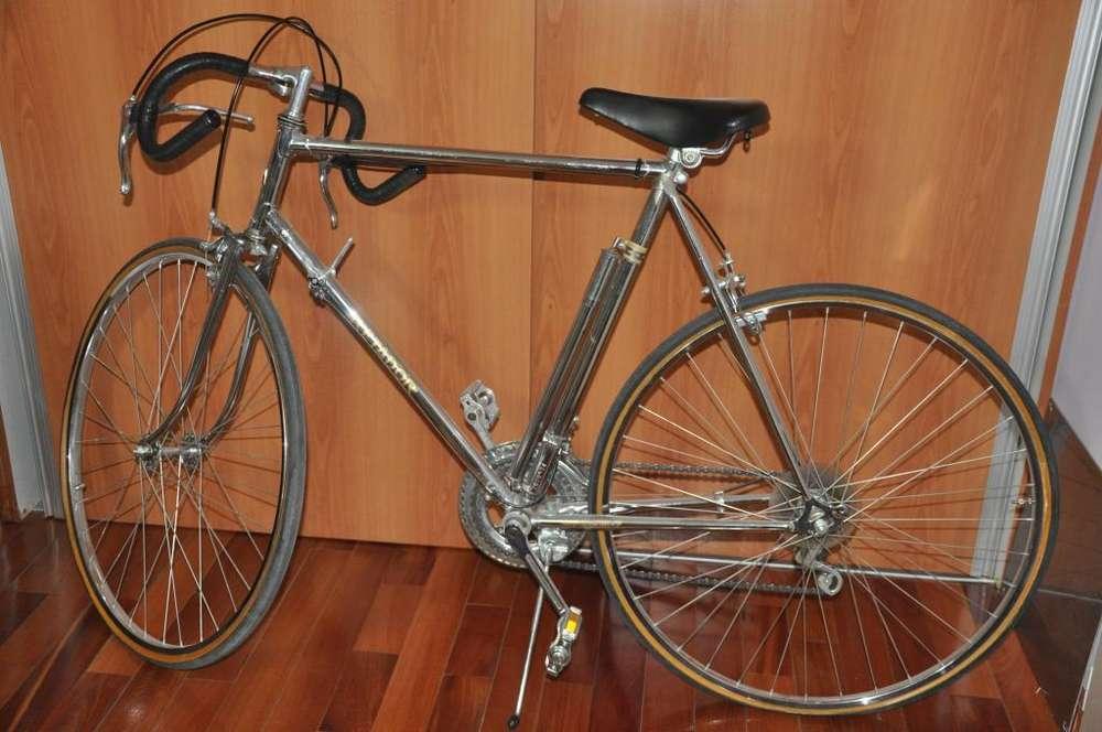 Bicicleta Carrera Retador importada Acero cromado