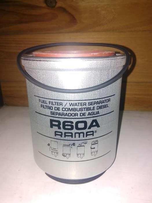 Filtro Combustible Camión Rama R60a Separador De Agua