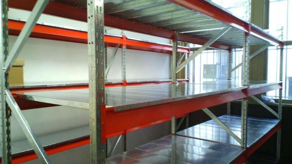 Rack de 190x100x300 con plano de carga