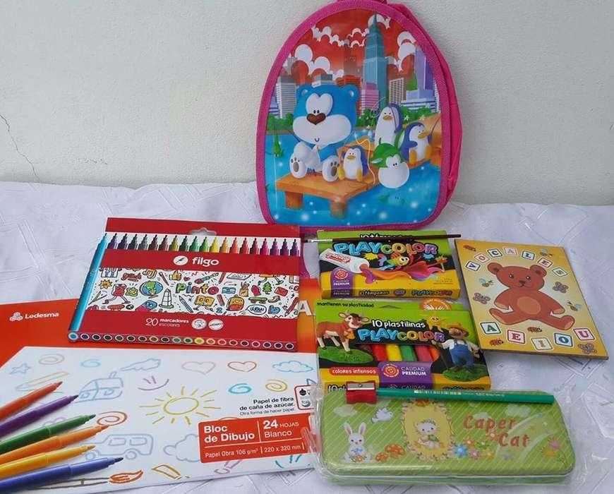 Kit Infantil para Pintar