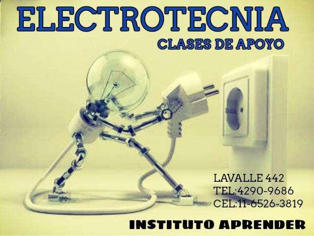 ELECTROTECNIA, CLASES DE APOYO EN MONTE GRANDE
