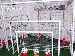 Redes Papi Futbol 3x2 Blanca Polietileno 2,5 Mm El Par EXCELENTE