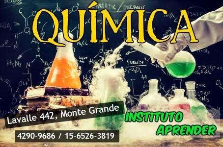 Clases de química en Monte Grande