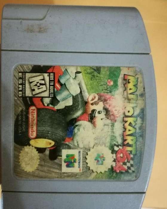 Mario Kart 64 Party 2 Goldeneye 007 N64