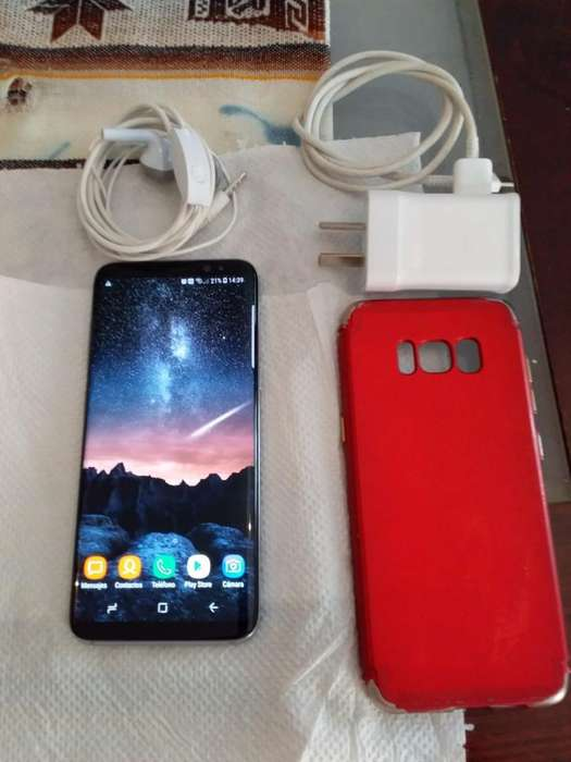Galaxy S8 Color Turquesa