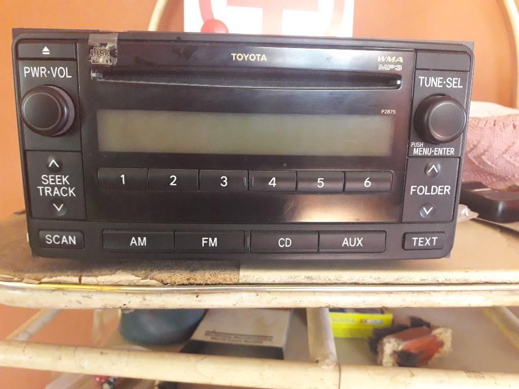 Radio Toyota Land Cruiser