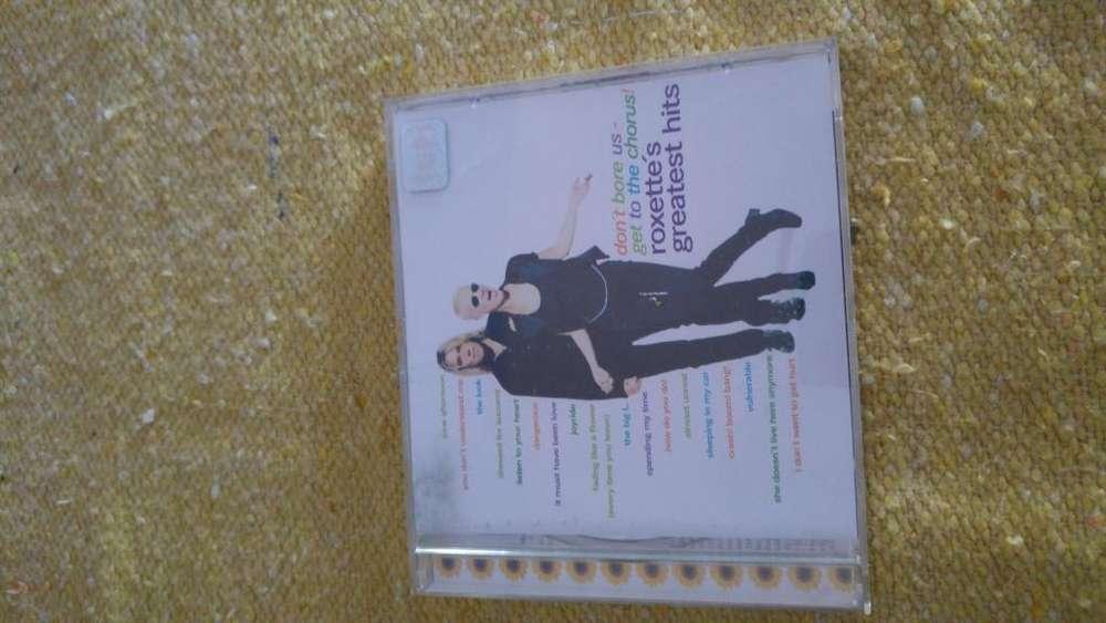 CD ROXETTE ALBUM Greatest Hits