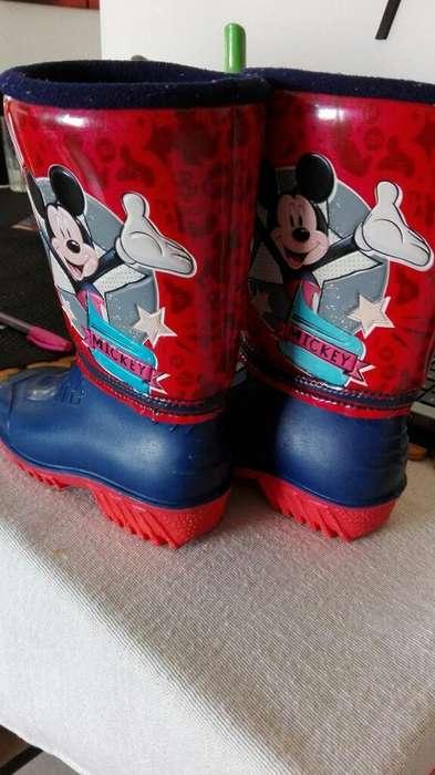 Botas Mickey Mouse