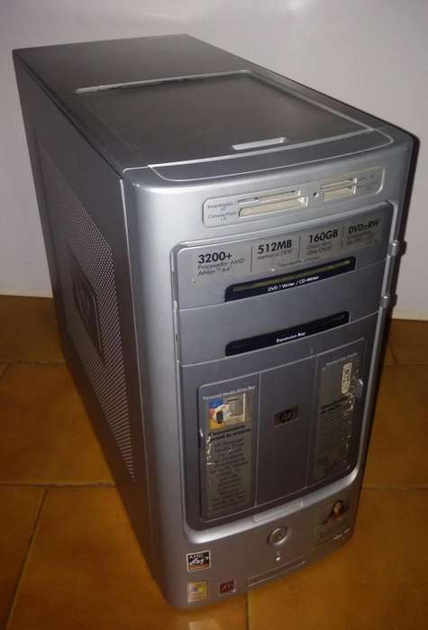 HP PAVILION,,WINDOWS 7,,RAM I GB,,DISCO 30 GB,,AMD ATHLON 64,,