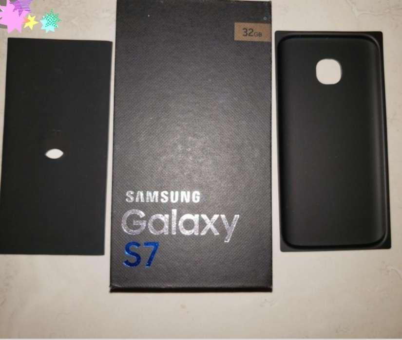 Galaxy S7 Gold Edition en Caja Flamante