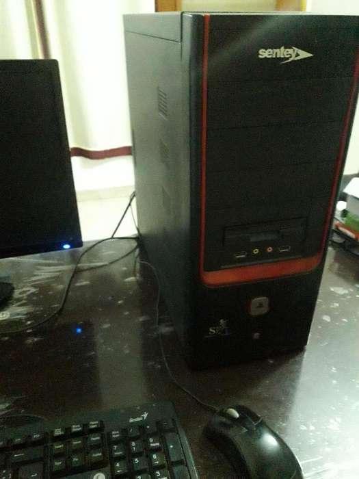 CPU AMD DUAL CORE (02 NUCLEOS ) ESTA IMPECABLE 03 MESES GARANTIA MOUSE Y TECLADO DE REGALO
