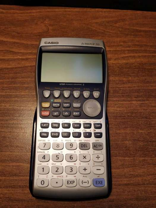 <strong>calculadora</strong> Graficadora Casio FX-9860GII SD