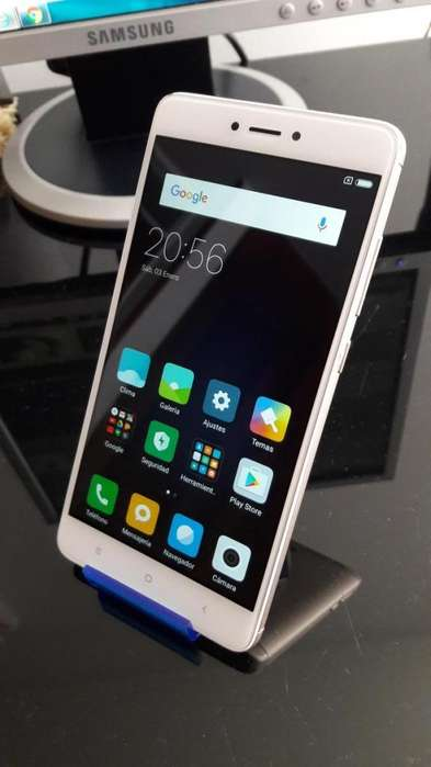 Xiaomi Redmi Note4, 32gb, 3ram, 5.5pulg, Huella, Octa-core