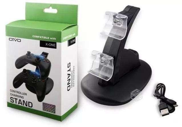 Cargador Usb Doble Para Controles Xbox One