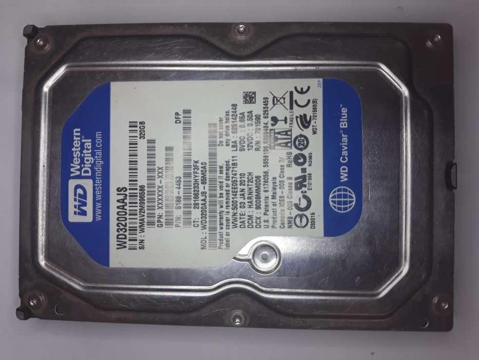 Disco duro 320 gb de 3.5