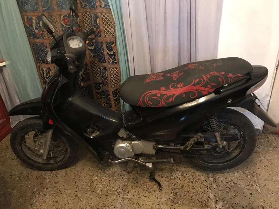 <strong>motocicleta</strong> Jialing 110 modelo 2009.