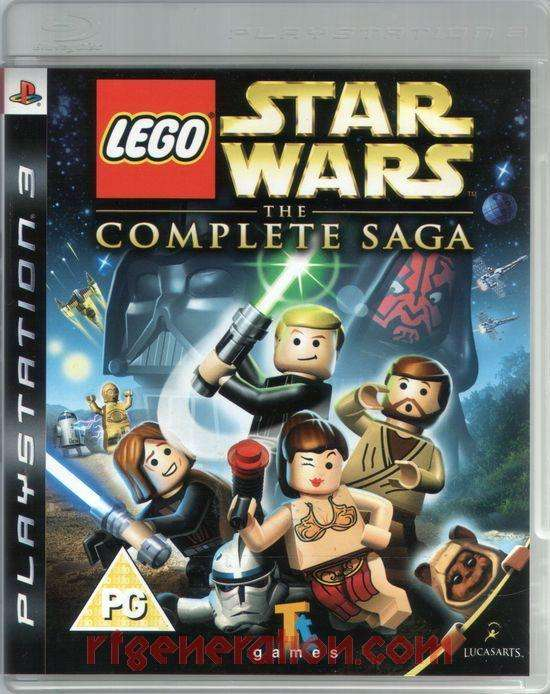 LEGO STAR WARS THE COMPLETE SAGA JUEGO PS3 ORIGINAL ENVIO GRATIS EN MONTEVIDEO