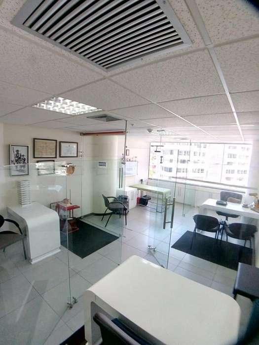 Alquilo oficina amoblada en Edificio The Point (Puerto Santa Ana)