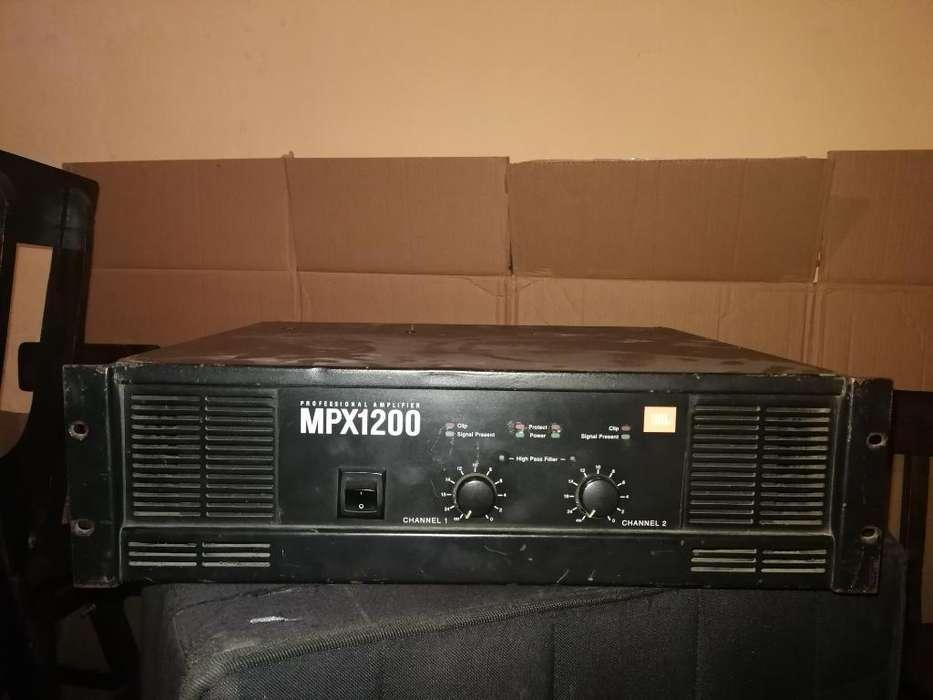Vendo Planta O Amplificador Mpx 1200 Jbl