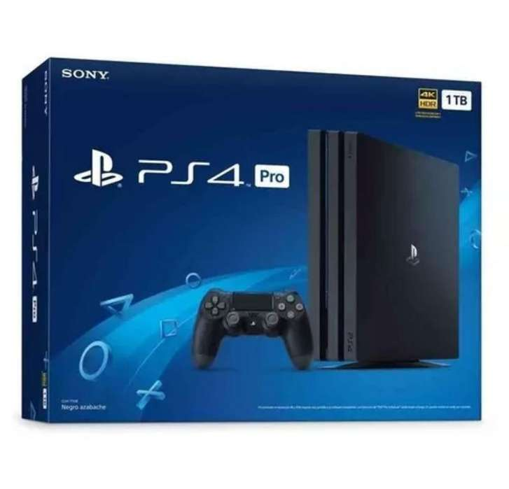 Ps4 Play Station 4 Pro 1 Tb Hdr