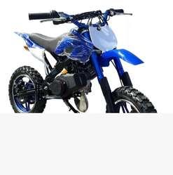 Mini Moto Cross Gasolina Encendido Elect