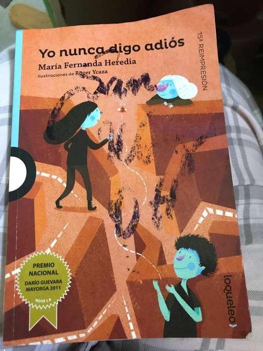 Libro de Lectura Yo Nunca Digo Adios