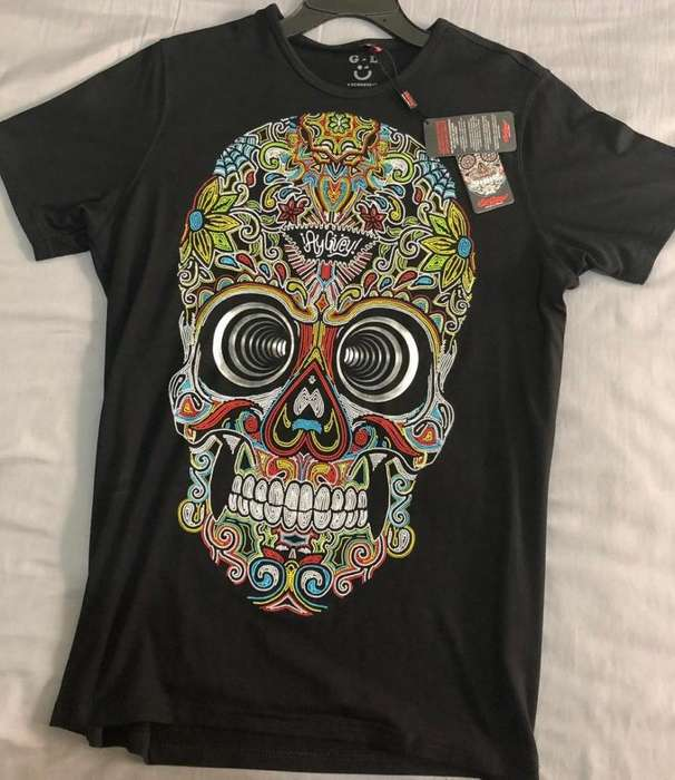 AY GUEY Mexico Camiseta nueva M-L