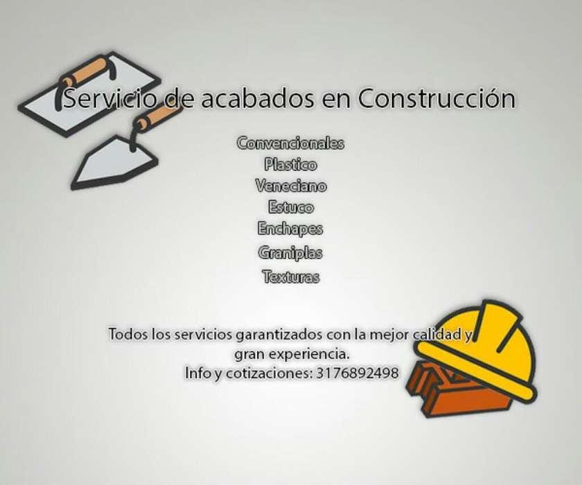 Servicio Acavados en Construccion