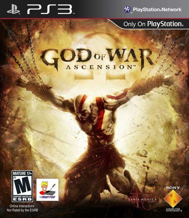 God Of War - Ascension Playstation 3