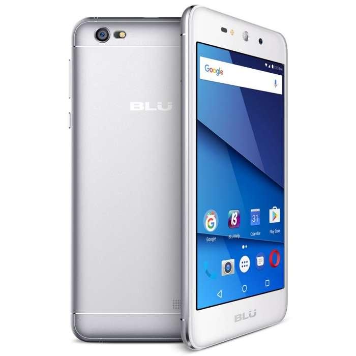 Celular Blu Grand Xl 8gb Plata