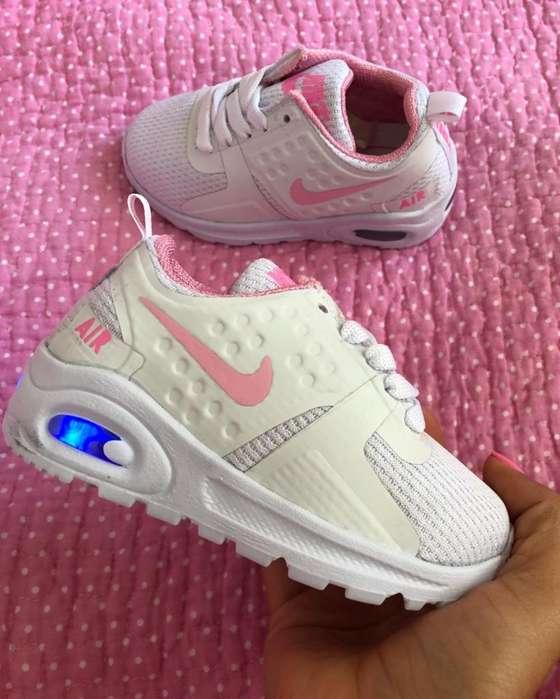 Zapatillas tenis deportivos Niña Luces tallas 28-33