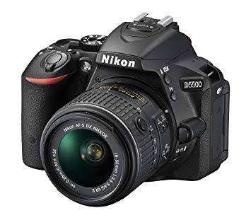 CAMARA NIKOND5500 2 lentes 18-55 Y 55-300 EXCELENTE ESTADO