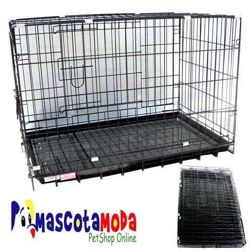 <strong>jaula</strong>s metalicas plegables para perros y cachorros en todos los tamaños 5 tallas