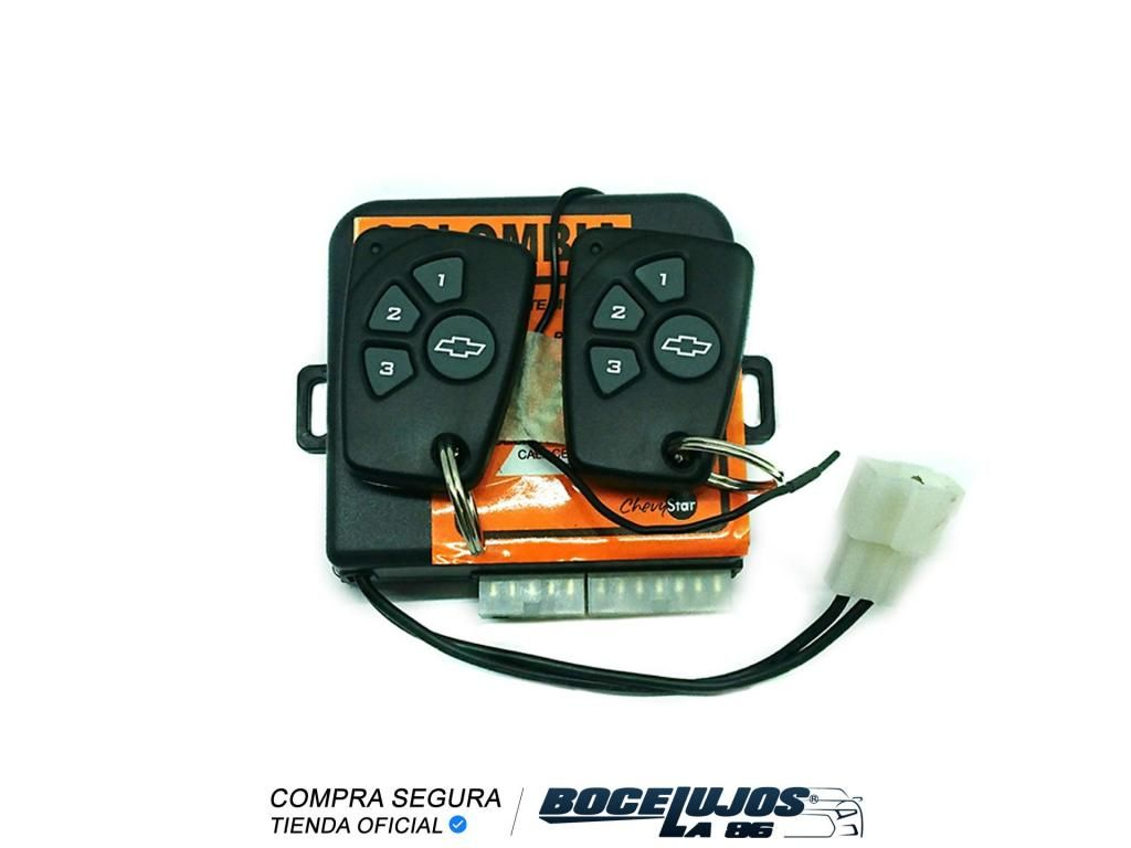 Alarma Chevrolet 2 Controles / Chevystar / Original