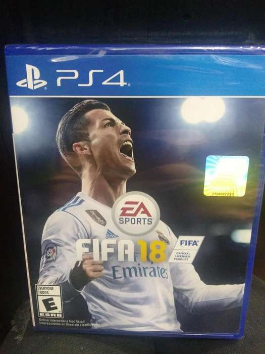 SUPER OFERTA FIFA 18 XBOX ONE PS4