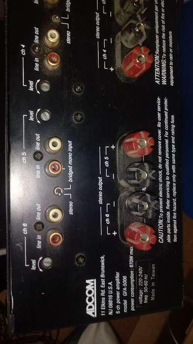 Anplifikador Y Preanplificador de 870w