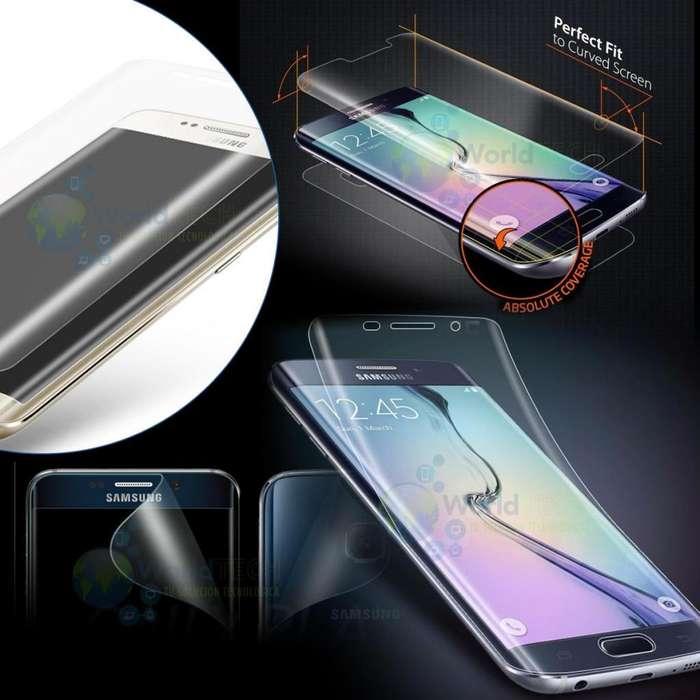 Mica D Goma Gel Antigolpe Samsung S6 Edge S7 Edge S8 S8 Plus