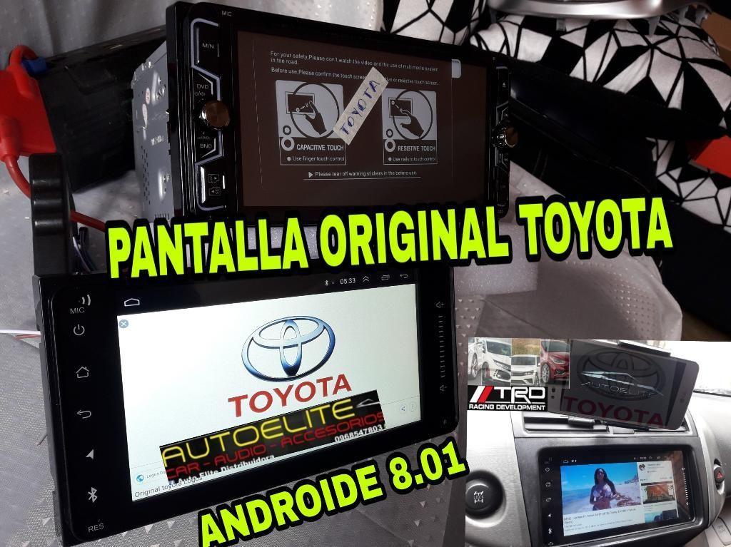 Radios Pantalla Originales para Toyota