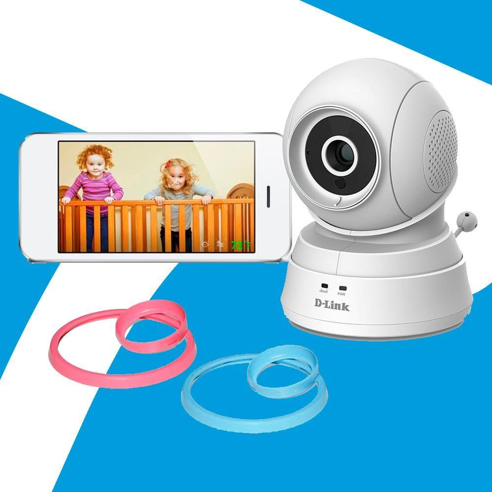 Acp - Camara Dlink Wifi Baby Vision Nocturna