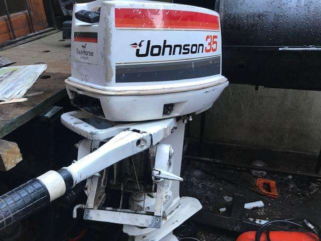Motor fuera de borda JOHNSON 35 hp