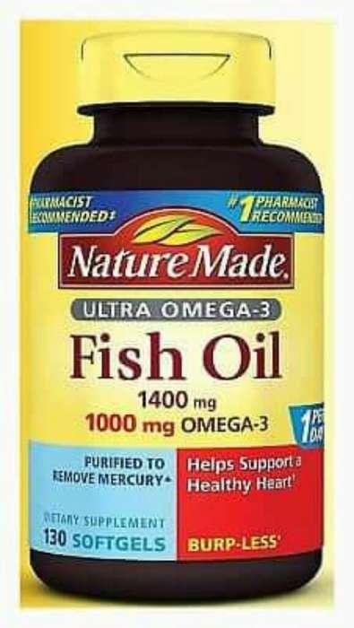 Fish Oil Omega 3 de 130 Caps