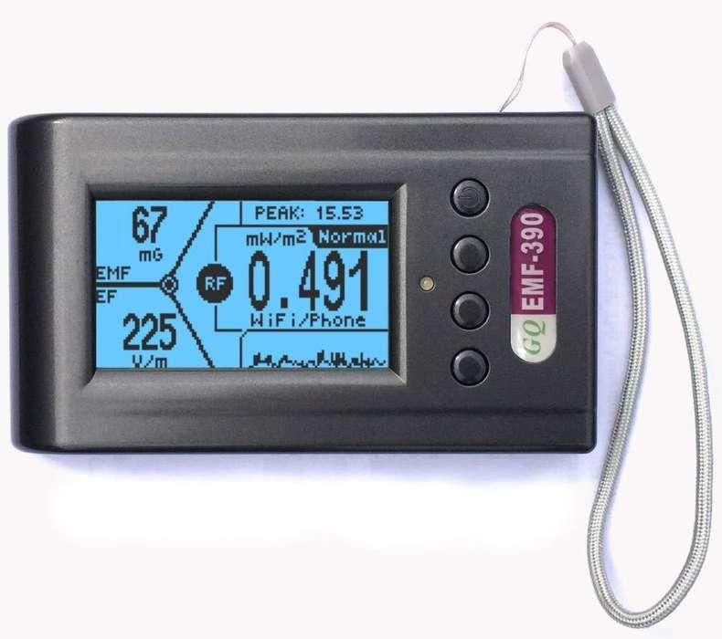 Gq Emf-390 - Detector De Radiación Electromagnética Elf / Rf