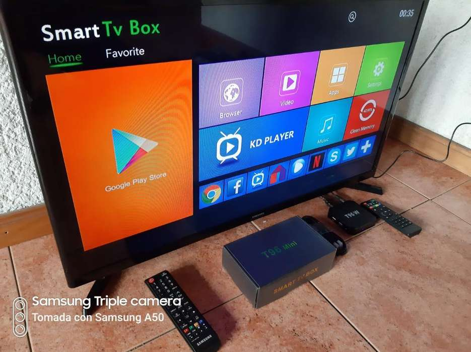 Tv Led Samsung 32 Smart Tv Box Android