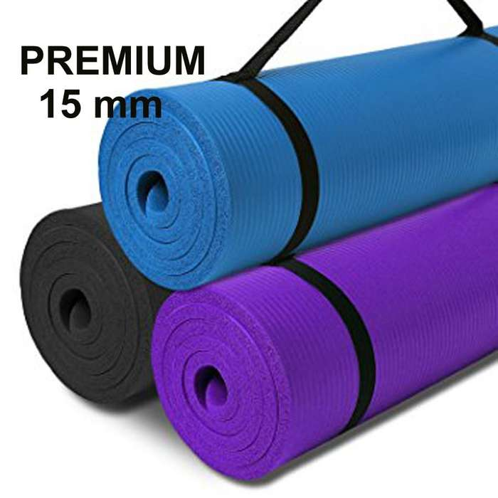 Yoga Durable Grueso A1 Mat De 15 Mm Sujetador Antideslizante 949330808 NOVEDADES EN EL FACEBOOK SOMOS: RISUTIMPORT