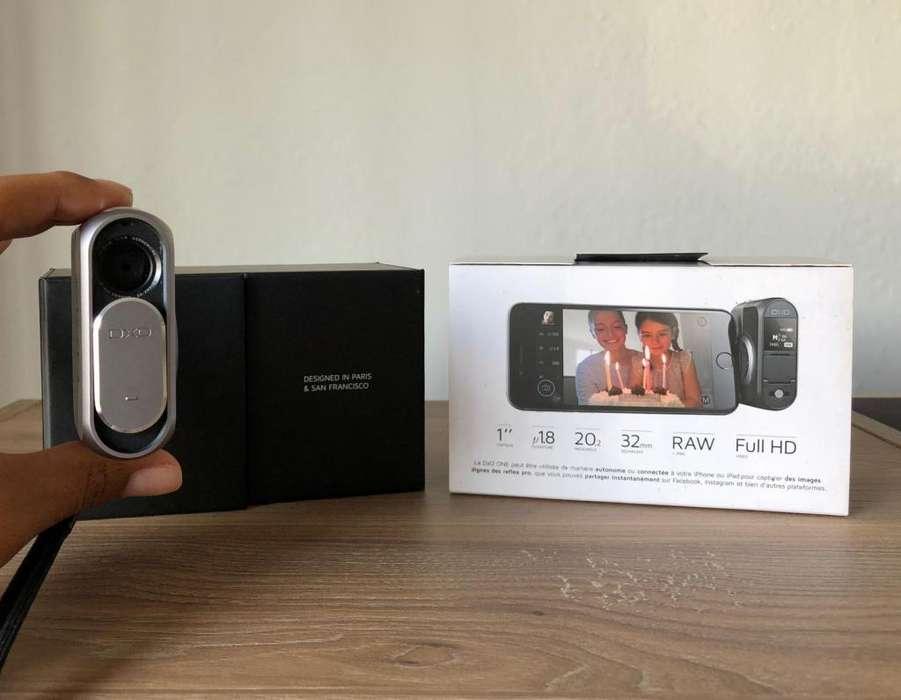 Cámara <strong>digital</strong> DxO ONE 20.2MP para iPhone y iPad.