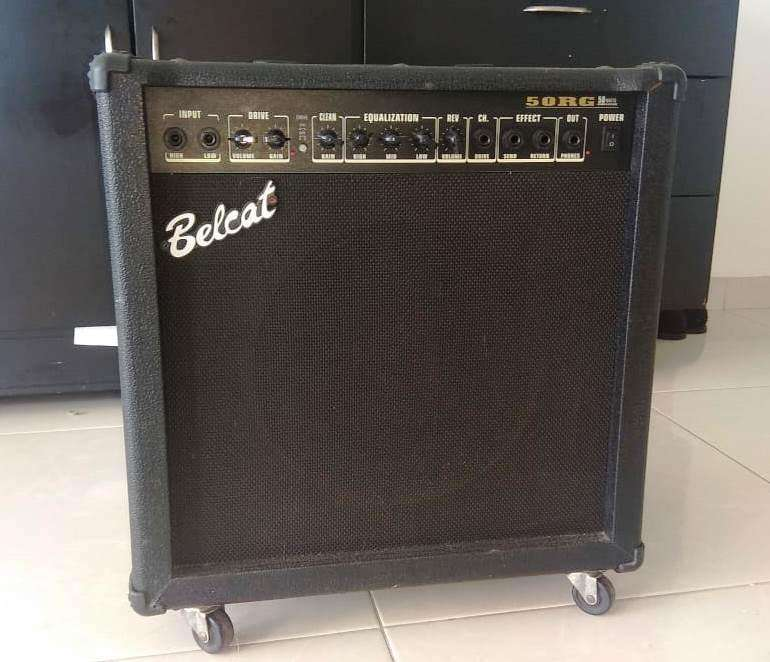 Amplificador Belcat 50RG Para Guitarra