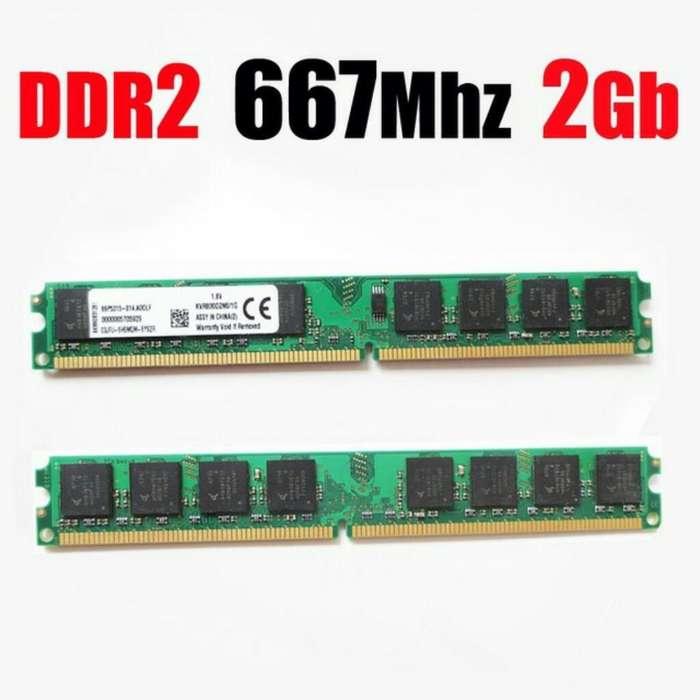 Memoria Ram Ddr2 2gb 667 667mhz Pc