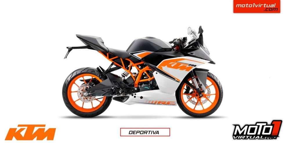 KTM RC 200. <strong>nueva</strong> ES <strong>nueva</strong>!!! CRÉDITO FÁCIL!