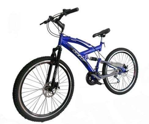 Bicicleta Gw Caronte Ref 1501 Todoterreno Doble Suspension Frenos Disco