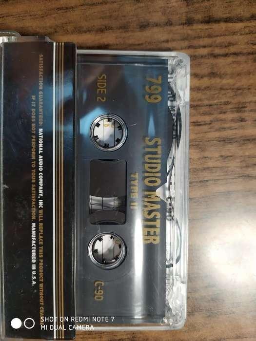 Cassette Cromo Studio Master